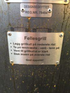 Bruksanvinsing for grillen